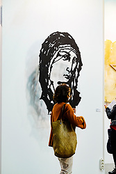 November 1, 2018 - Torino, Italy - Artissima, the most important contemporary art fair in Italy that takes place every year in Turin, celebrates its first 25 years in 2018. (Credit Image: © Bruno Brizzi/Pacific Press via ZUMA Wire)