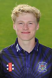 Gloucestershire player, Miles Hammond - Photo mandatory by-line: Dougie Allward/JMP - 07966 386802 - 10/04/2015 - SPORT - CRICKET - Bristol, England - Bristol County Ground - Gloucestershire County Cricket Club Photocall.