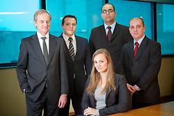 Carlos Biedermann e equipe da PWC - PricewaterhouseCoopers.  FOTO: Jefferson Bernardes/Preview.com
