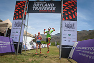 Landie and Christiaan Greyling cross the finish line of Stage 1 of the Fairview Dryland Traverse, on the 5th of November 2016.<br /> <br /> <br /> Photo by: Oakpics/Fairview Dryland Traverse/SPORTZPICS<br /> <br /> <br /> {dem16gst}