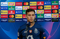 PIRAEUS, GREECE - DECEMBER 09: Press interview after the UEFA Champions League Group C stage match between Olympiacos FC and FC Porto at Karaiskakis Stadium on December 9, 2020 in Piraeus, Greece. (Photo by MB Media)