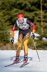 18.01.2014, Nordic Arena, Szklarska Poreba, POL, FIS Weltcup Langlauf, Szklarska Poreba, Damen, 1,5 KM Sprint Frei, Qualification, im Bild HANNA KOLB // HANNA KOLB during the Qualification of Ladies 1.5 km Sprint Free oft the Szklarska Poreba FIS Cross Country world cup at the Nordic Arena in Szklarska Poreba, Poland on 2014/01/18. EXPA Pictures © 2014, PhotoCredit: EXPA/ Newspix/ Sebastian Borowski<br /> <br /> *****ATTENTION - for AUT, SLO, CRO, SRB, BIH, MAZ, TUR, SUI, SWE only*****