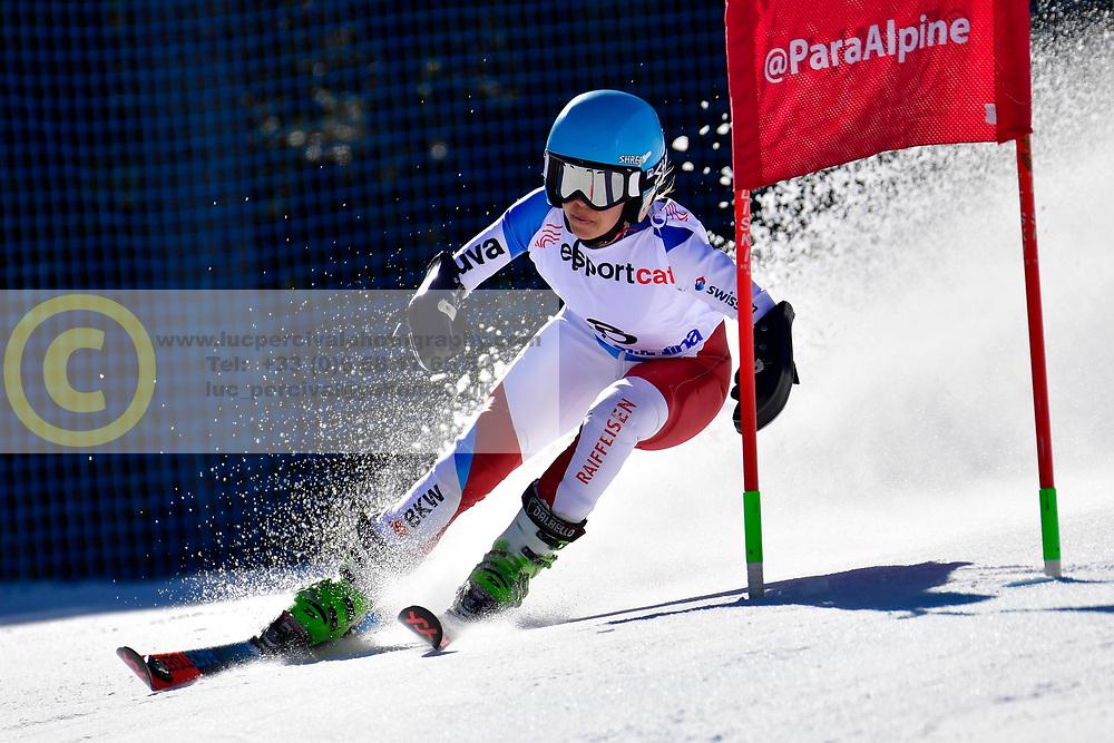 SCHMIDT Bigna, LW5/7-3, SUI, Giant Slalom at the WPAS_2019 Alpine Skiing World Cup, La Molina, Spain