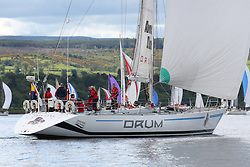 The Silvers Marine Scottish Series 2014, organised by the  Clyde Cruising Club,  celebrates it's 40th anniversary.<br /> Day 1<br /> K3797, Drum, Sir Arnold Clark, CCC, Holland 77<br /> <br /> Racing on Loch Fyne from 23rd-26th May 2014<br /> <br /> Credit : Marc Turner / PFM