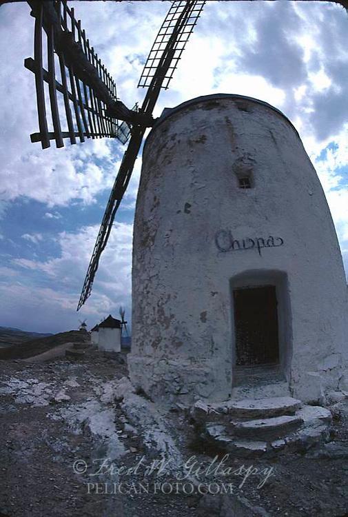 La Chopa Windmill, La Mancha, España, Spain