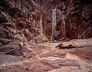 Trinity Canyon, Trinity Creek, Colorado River mile 91.5, Grand Canyon National Park, Arizona, USA; 5 May 2008; Pentax 67II, Velvia 100