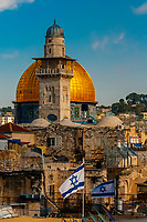 Dome on the Mount, on the Temple Mount (Mount Mariah), Old City, Jerusalem, Israel.