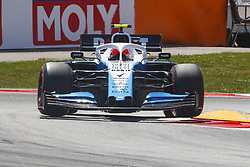May 11, 2019 - Barcelona, Catalonia, Spain - Williams Mercedes driver Robert Kubica (88) of Poland during F1 Grand Prix qualifying celebrated at Circuit of Barcelona 11th May 2019 in Barcelona, Spain. (Credit Image: © Mikel Trigueros/NurPhoto via ZUMA Press)