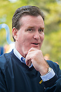 Merrick, New York, USA. October 29, 2016. New York State Senator JOHN J FLANAGAN, (Rep - 2nd Senate District) is one of several Long Island politicians the 2016 annual Merrick Spooktacular hosted in part by the North and Central Merrick Civic Association (NCMCA). Flanagan is the NYS Senate's Temporary President and Majority Leader. The holiday party was at Fraser Park.