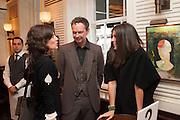BELLA FREUD; TOM DIXON; ELIZABETH SALTZMAN, Vanity Fair Lunch hosted by Graydon Carter. 34 Grosvenor Sq. London. 14 May 2013