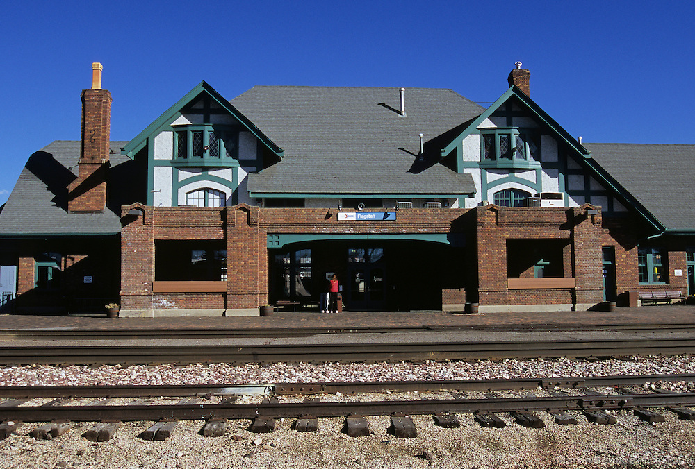 Flagstaff train station, Flagstaff, Arizona