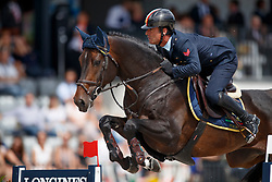 Marziani Luca, ITA, Tokyo du Soleil<br /> FEI Nations Cup - CHIO Rotterdam 2017<br /> © Hippo Foto - Dirk Caremans<br /> Marziani Luca, ITA, Tokyo du Soleil