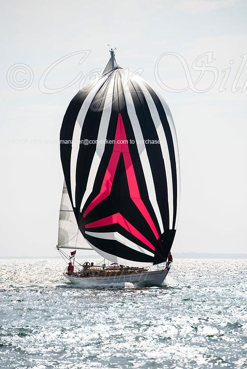China Clipper sailing in the Sail Nantucket Regatta, day two.