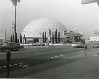 1967 Cinerama Dome Theater on Sunset Blvd.