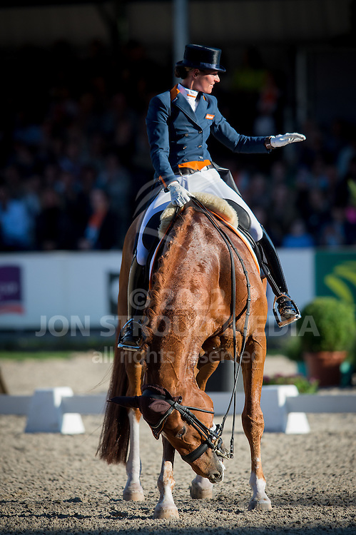 Adelinde Cornelissen (NED) & Jerich Parzival - Grand Prix Special - CDIO5 Nations Cup  - CHIO Rotterdam 2016 - Kralingse Bos, Rotterdam, Netherlands - 25 June 2016