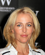 Gillian Anderson signs copies of her first novel 'A Vision Of Fire'