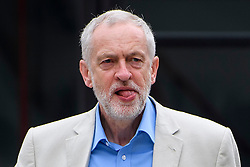 © Licensed to London News Pictures. 10/07/2016. London, UK. Labour Party Leader JEREMY CORBYN arrives at the BBC Broadcasting House in London to appear on the Andrew Marr Show on July 10, 2016.  Photo credit: Ben Cawthra/LNP