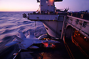 F/A-18F Super Hornet carrier Trials on Harry Truman