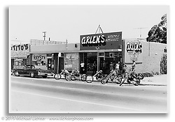 First store on 14th Street. San Leandro, CA.  ©1972 Ness Family Archive Photo