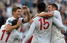 England V France Euro 2012 11-6-12