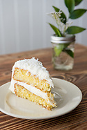 Coconut Cake at Hominy Grill