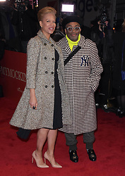 """Spike Lee at the Broadway opening of """"To Kill A Mockingbird"""" in New York City."""