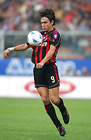 Fotball<br /> Italia Serie A<br /> 14.10.2006<br /> Sampdoria v Milan 1-1<br /> Foto: Inside/Digitalsport<br /> NORWAY ONLY<br /> <br /> Filippo Inzaghi (Milan)