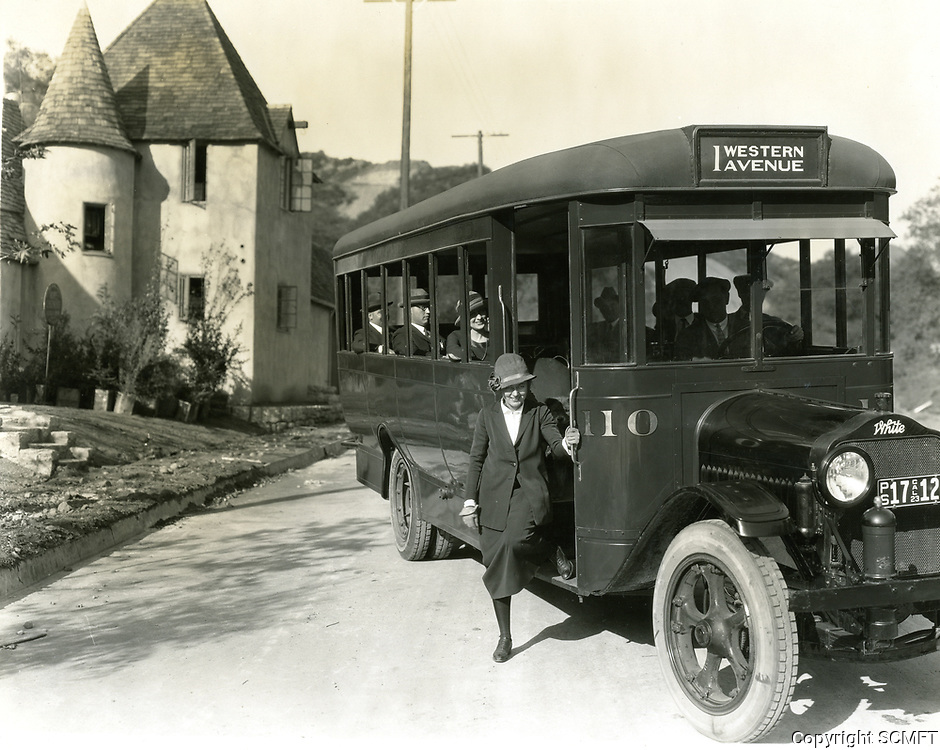 1923 Hollywoodland real estate bus