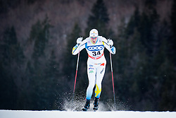 Nordstroem Gustav (SWE) during Man 1.2 km Free Sprint Qualification race at FIS Cross<br /> Country World Cup Planica 2016, on January 16, 2016 at Planica,Slovenia. Photo by Ziga Zupan / Sportida