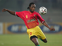 Pablo Thiam Guinea<br /> Africa Cup 2006 Suedafrika - Guinea<br /> Sør-Afrika<br /> Norway only