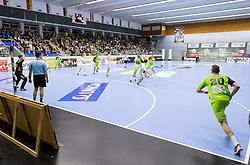 03.02.2017, BSFZ Suedstadt, Maria Enzersdorf, AUT, HLA, SG INSIGNIS Handball WESTWIEN vs HC FIVERS WAT Margareten, HLA Oberes Playoff, 1. Runde, im Bild die Halle // during Handball League Austria, upper play off, 1 st round match between SG INSIGNIS Handball WESTWIEN and HC FIVERS WAT Margareten at the BSFZ Suedstadt, Maria Enzersdorf, Austria on 2017/02/03, EXPA Pictures © 2017, PhotoCredit: EXPA/ Sebastian Pucher