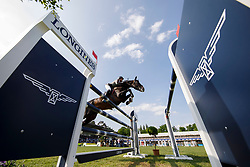 Philippaerts Nicola, BEL, H&M Chilli Willi<br /> Deutsches Spring- und Dressur Derby Hamburg 2018<br /> Longines Global Champions Tour<br /> Grand Prix of Hamburg<br /> © Hippo Foto - Stefan Lafrentz<br /> 12/05/2018