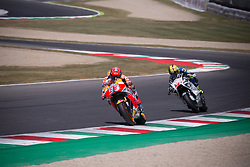 June 2, 2017 - Florence, Italie - MARC MARQUEZ - SPANISH - REPSOL HONDA TEAM - HONDA.KAREL ABRAHAM - CZECH - PULL&BEAR ASPAR TEAM - DUCATI (Credit Image: © Panoramic via ZUMA Press)