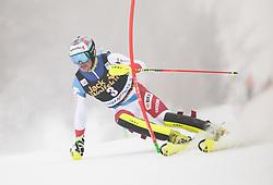 Daniel Yule (SUI) during 1st run of Men's Slalom race of FIS Alpine Ski World Cup 57th Vitranc Cup 2018, on March 4, 2018 in Kranjska Gora, Slovenia. Photo by Urban Meglič / Sportida