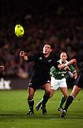 Mark Hammett, All Blacks v Ireland, international rugby union test match, Eden Park, Auckland, New Zealand. 22 June 2002. © Copyright Photo: www.photosport.nz