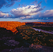 Canyon of the Little Colorado River on the Colorado Plateau of northern Arizona