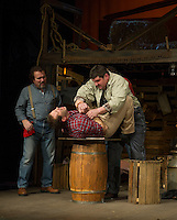 Of Mice and Men dress rehearsal at Winnipesaukee Playhouse.  Karen Bobotas /for the Laconia Daily Sun