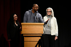 """Su Kim, RaMell Ross and Joslyn Barnes of the Oscar® nominated documentary feature """"Hale County This Morning, This Evening"""" during the Academy of Motion Picture Arts and Sciences' """"Oscar Week: Documentaries"""" event on Tuesday, February 19, 2019 at the Samuel Goldwyn Theater in Beverly Hills. The Oscars® will be presented on Sunday, February 24, 2019, at the Dolby Theatre® in Hollywood, CA and televised live by the ABC Television Network."""
