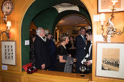 KATHRYN PALMER; PETER WATSON, Pedro Girao of Christies and Duncan Macintyre of Lombard Odier host the last dinner at the Old Annabels. 44 Berkeley Sq. London. 15 November 2018