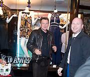 CARL SMITH; WAYNE CLARKE, Jackdawstore. Pop Up store by PPQ. No 6 Burlington Arcade. London. 8 April 2009