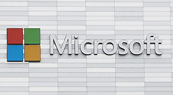 File photo dated 19/02/18 of a Microsoft sign. The technology giant has said it has fixed an error which saw legitimate mails diverted to spam and junk folders for users around the world.