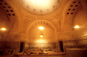 An interior shot of the Hamman (Turkish bath). Istanbul, Turkey. (Supporting image from the project Hungry Planet: What the World Eats.)