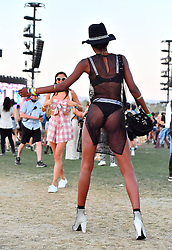 EXCLUSIVE: Victoria Secret models Sara Sampaio & Jasmine Tookes were spotted enjoying Coachella with their boyfriends in Indio, CA. The two super models and their boyfriends Olivier Ripley & Juan David Borrero were seen dancing as they enjoyed the music and scenery at the festival. 15 Apr 2018 Pictured: Victoria Secret models Sara Sampaio & Jasmine Tookes were spotted enjoying Coachella with their boyfriends in Indio, CA. The two super models and their boyfriends Olivier Ripley & Juan David Borrero were seen dancing as they enjoyed the music and scenery at the festival. Photo credit: Marksman / MEGA TheMegaAgency.com +1 888 505 6342