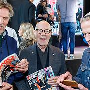 """NLD/Amsterdam/20180426 - L""""Homo 2018, Erwin Olaf, Hans van Manen en partner Henk van Dijk"""