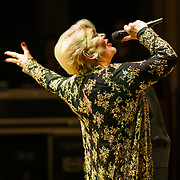 Marinella, the famous greek singer, perform at the issanat concert hall in Istanbul, Turkey, 18 April 2013. Photo by TURKPIX