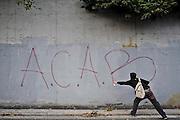 """No Monti day"" manifestation. Rome, 27 october 2012. Christian Mantuano / OneShot"
