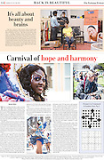 Bristol Carnival 2013 coverage: Lucknow Tribune 26th July.