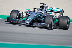 February 28, 2019 - Montmelo, Barcelona, Spain - Valtteri Bottas (Mercedes AMG Petronas Motosport) W10 car, seen in action during the winter testing days at the Circuit de Catalunya in Montmelo (Catalonia). (Credit Image: © AFP7 via ZUMA Wire)