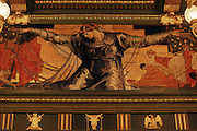 "PA Capitol, Senate Chamber, Violet Oakley painting, ""Unity,"" Harrisburg, Pennsylvania"