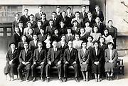 teachers group photo Japan 1952